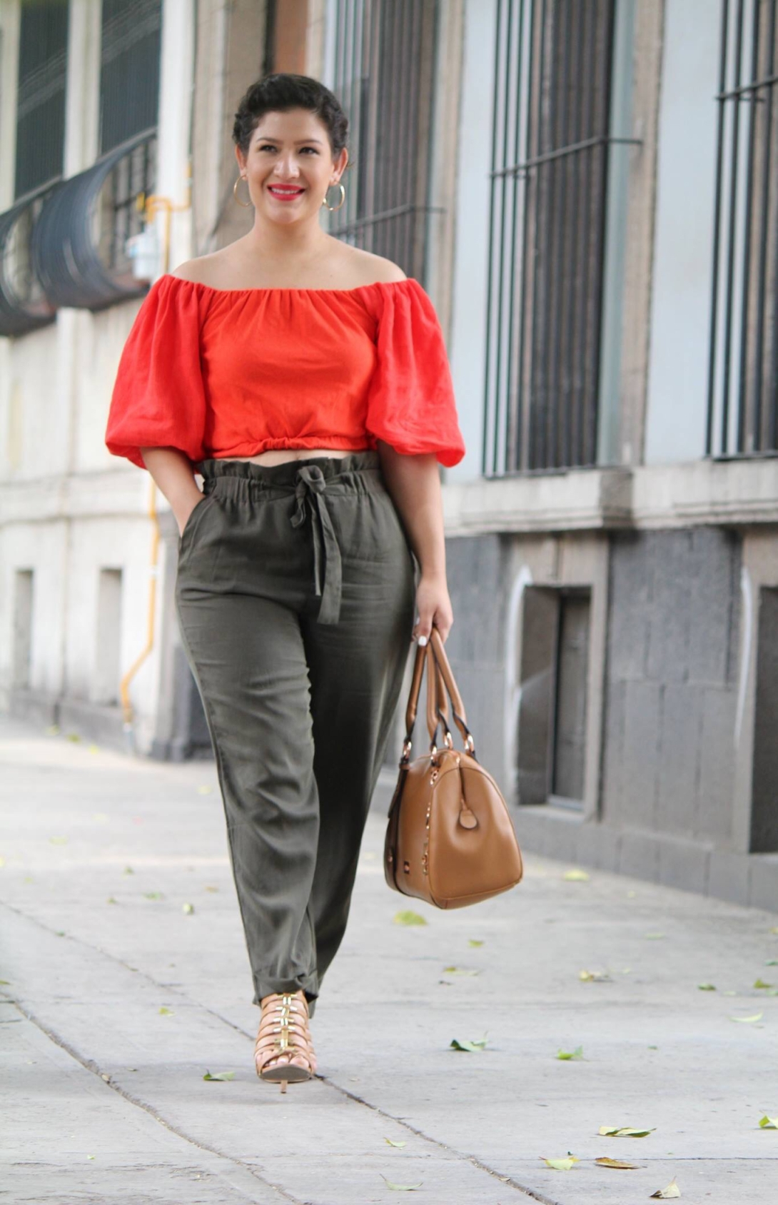 crop-top-naranja